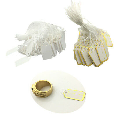 1000pcs Paper Blank Gift String Tags Wedding  Tags Wholesale Supplies