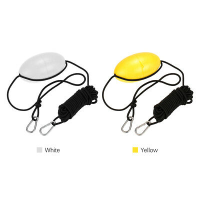 Kayak Drift Anchor Tow Rope Line Throw Nylon Rope Stainless Steel Accessory Y6M4