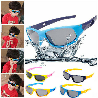 Kids Children Sunglasses Polarized Sport Goggles Shades UV100% for Girls Boys US