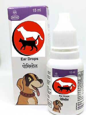 PET DOG/CAT Ear Drops - Infection Antibiotic Treatment - US Seller