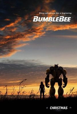 BUMBLEBEE Transformers New Orig D/S 27X40  Teaser Movie Poster Travis Knight