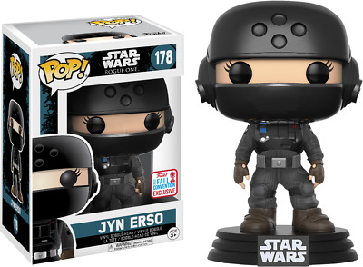 Star Wars Rogue One Funko POP! Jyn Disguise with Helmet (NYCC exclusive)