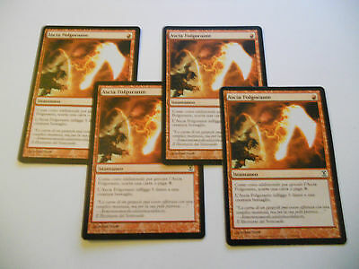 4x MTG Ascia Folgorante-Lightning Axe Magic EDh TS Time Spiral ITA Italiano x4