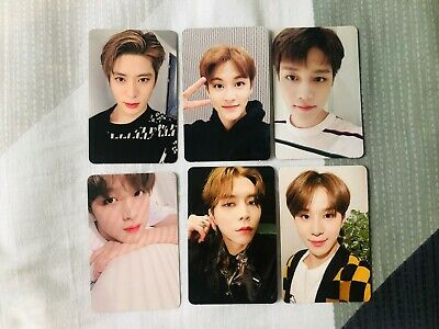 Nct Nct127 Official Regulate Album Photocard Haechan Taeyong Yuta Jaehyun Mark