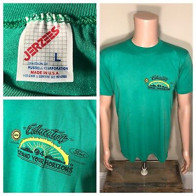 Vintage 1994 Ford UAW local Cleveland motor plant shirt employee Jerzees large