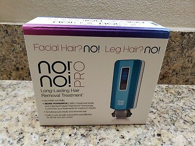 No No Hair Removal System Blue - Latest PRO Model No!No! -Brand new