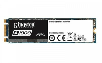 Kingston A1000 480GB M.2 2280 PCI-e NVMe 1500/900MB/s