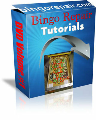 Bally Bingo Pinball Machine Repair Course - 11 Videos - 5 Hours of Instruction