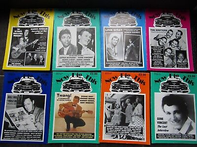 JOB LOT of 8 MAGAZINES NOW DIG THIS ROCK N ROLL / ROCKABILLY 1996 1997