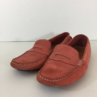 84fff657bca Mercanti Fiorentini Womens Size 8.5 Light Red Driving Loafers Moccasins  Leather