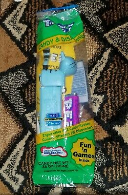 Pez Candy Dispenser Pilchard The Blue Cat from the Bob the Builder Series
