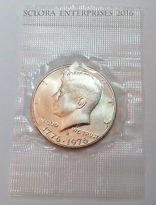 1976 S Kennedy Half Dollar   *40% SILVER*   *IN MINT CELLO!* **FREE SHIPPING**