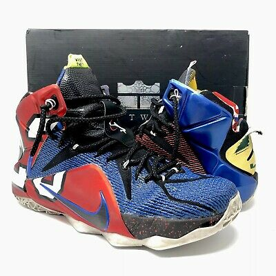 ce0446e943070 Nike LEBRON XII 12 SE What The Lebron Men s Shoes 802193-909 Multicolor Sz 9