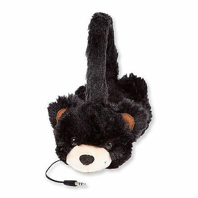 ReTrak Animalz Retractable Volume-Limiting Childrens Headphones Bear FREE SHIP!!