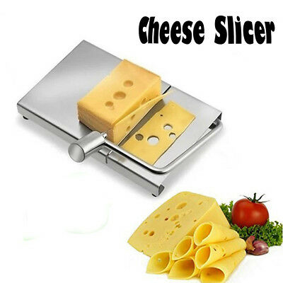 Cheese Slicer Stainless Steel Wire Cutter for Hard and Semi Hard Cheese Butter