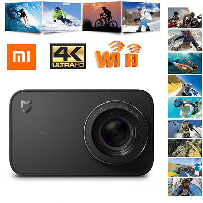"Xiaomi Mijia 4K Sport Action Camera WIFI Bluetooth DV Camcorder 2.4"" Touchscreen"