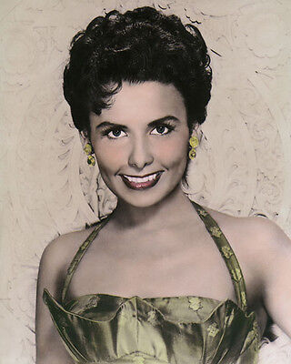 "LENA HORNE JAZZ SINGER AFRICAN AMERICAN ACTRESS 8x10"" HAND COLOR TINTED PHOTO"