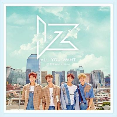 IZ [ALL YOU WANT] 1st Mini Album CD+64p Photo Book+2p Photo Card+Sticker SEALED