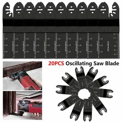 10PCS 34mm oscillating Multi tool saw blades Carbon Steel Cutter DIY Universal