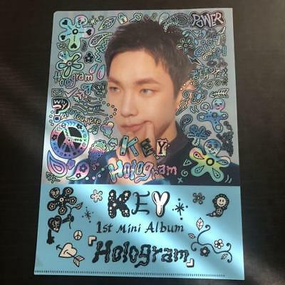 SHINEE Key JPN 1st Mini Album [Hologram] clear binder