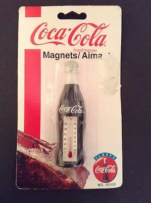 Vintage Coca Cola Thermometer. New in package 1995. Collectibles.