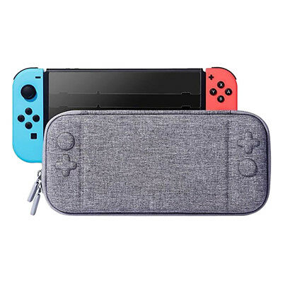 Slim Hard Travel Carry Case With 8 Game Cartridge For Nintendo Switch Console KY