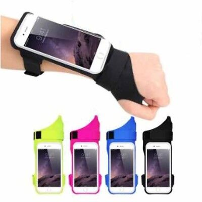 Sports Running Armband Case Cover Running Armband Thumb Gloves Mobile Phone Bag