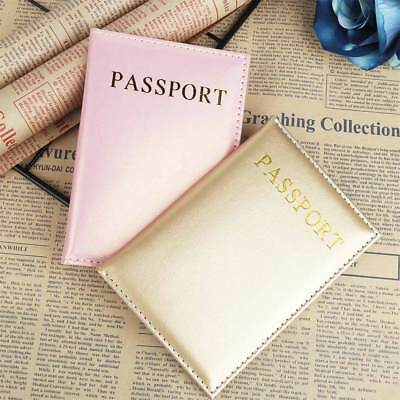 Universal Travel Passport Card Cover Holder Pu Leather Passport Case Accessories