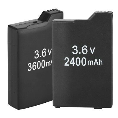 3600mah 3.6V Li-ion Rechargeable Battery Pack For Sony  1000 Controller Black