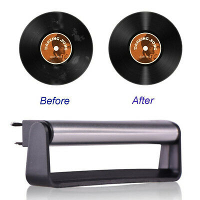 Vinyl Record Cleaning Brush Set Stylus Velvet Anti-static Cleaner Kit 2 in 1