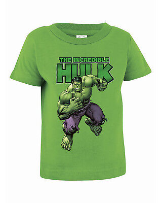 Infants' and Toddlers' Incredible Hulk Rabbit Skins Infant Cotton Jersey T-Shirt