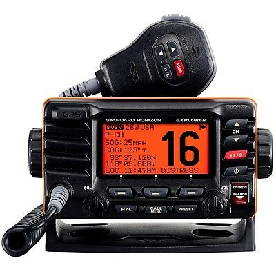 Standard Horizon Explorer GPS Fixed Mount VHF - Black Model# GX1700B