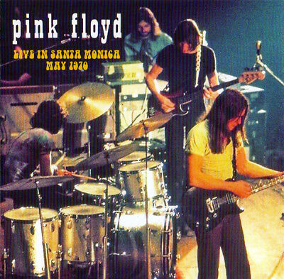 "Pink Floyd "" Live In Santa Monica, May 1970, 2 Cd's Sealed """
