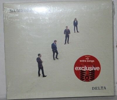 Mumford and Sons Delta CD Target Exclusive + 3 Bonus Songs
