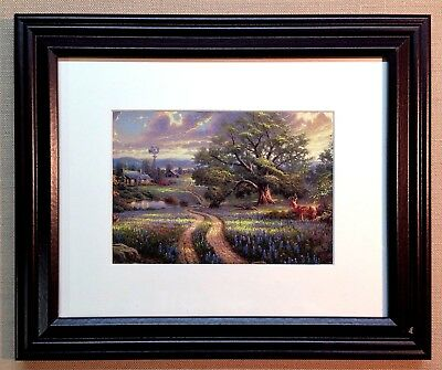 "Thomas Kinkade Framed Open Edition print ""Country Living"" - New"