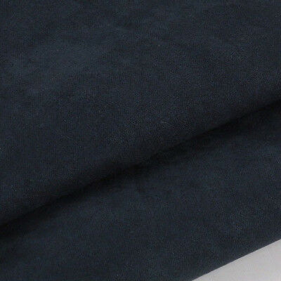 Upholstery Fabric Faux Cushion Chair Plain Dress Multi-color Suedette Material