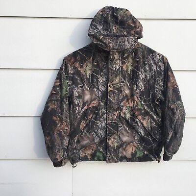 a22a28f26fb89 Cabelas Dry Plus Jacket Camo Scentlock Hunting Coat Hooded Mens Large