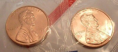 1998 P & D Lincoln Memorial Cent / Penny Set *MINT CELLO*  **FREE SHIPPING**
