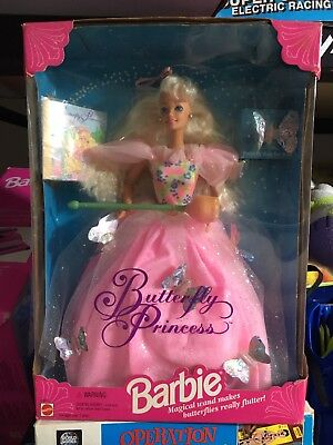 1994 butterfly princess barbie In Box