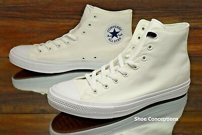CONVERSE ALL STAR Hi Chuck Taylor II 2 White 150148C Unisex Shoes Multi Size