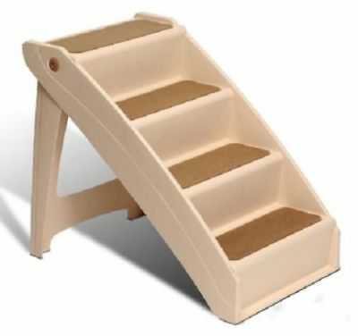Solvit Pup 4 Step Pet Stairs Steps For Large Dogs Stool Cats Dog Tall Bed Ramps