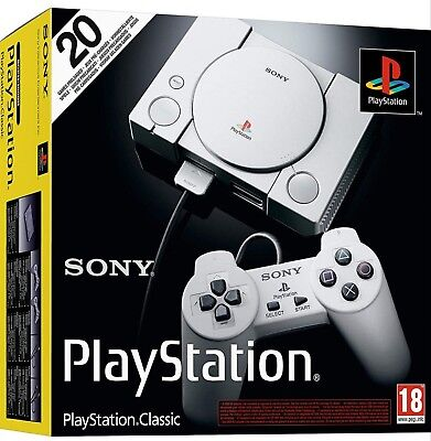 New Sealed Playstation Classic Console, 20 Preloaded Games, 2 Controllers Sale