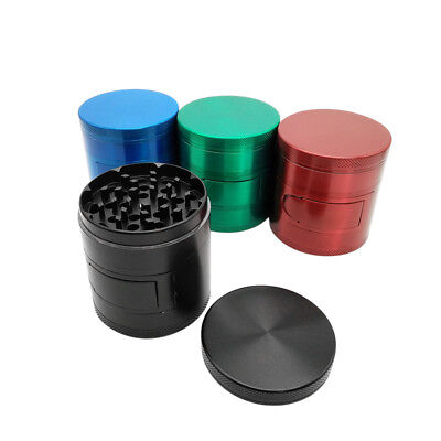 4 Layer 2.48'' inch Cigarette Tobacco Herbal Herb Grinder Large Spice Container