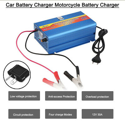 12V Car Battery Charger 30 Amp 12V ATV Boat 4WD Caravan Motorcycle MG