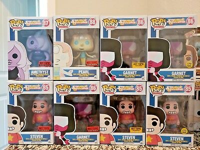 Funko Pop! Animation STEVEN UNIVERSE Hot Topic exclusives