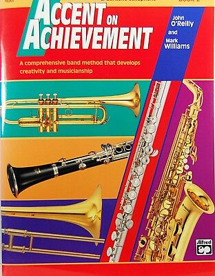 Accent on Achievement Book 2 Flute incl CD Brand New