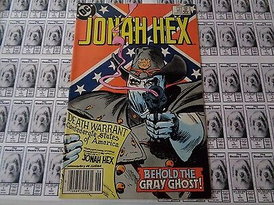 Jonah Hex (1977) DC - #85, Behold the Gray Ghost, Fleisher/DeZuniga, VG+