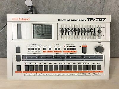 Roland TR-707 Rhythm Composer in Original Box #613499