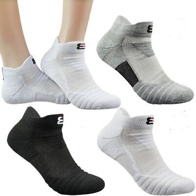 Mens Sport Cotton Running Sock Quick Dry Climbing Gym Fitness Cotton Short Socks