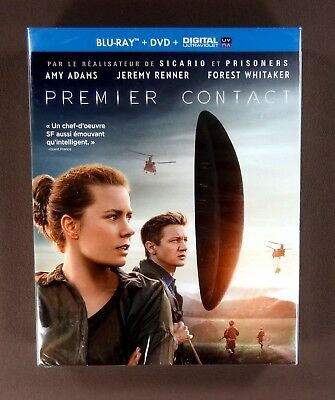 PREMIER CONTACT coffret Blu Ray + dvd + DIGITAL HD Film premier contact villene